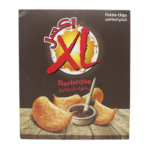 XL Barbeque Potato Chips 14 x 25g