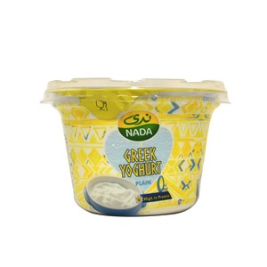 Nada Greek Yoghurt Plain 0% Fat 160g