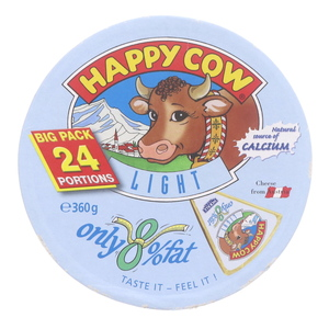 Happy Cow Austrian Light Processed Cheese 360g