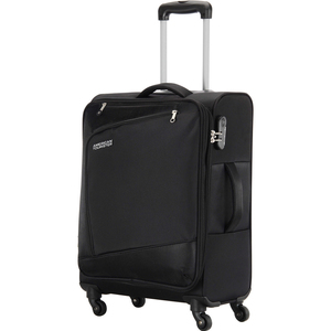 American Tourister Vienna 4 Wheel Soft Trolley 57cm Black