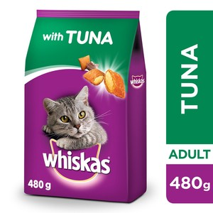 Whiskas Tuna Dry Food Adult 1+ years 480g