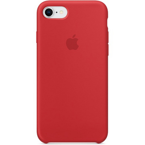 Apple iPhone 8 Silicone Case Red
