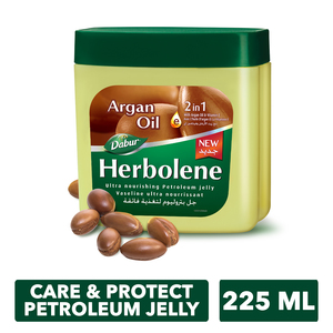 Dabur Herbolene Argan Oil Petroleum Jelly 225ml
