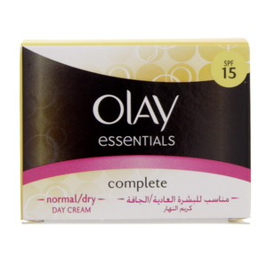 Olay Essentials Complete Normal And Dry Skin Day Cream SPF 15 50ml