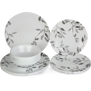 Corelle Dinner Set Misty Leaves 18pcs