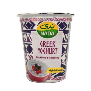 Nada Greek Yoghurt Blackberry & Raspberry 360g