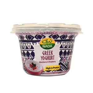 Nada Greek Yoghurt Blackberry & Raspberry 160g