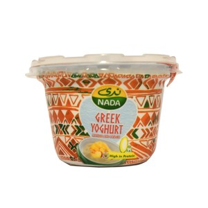 Nada Greek Yoghurt Mango & Peach 0% Fat 160g