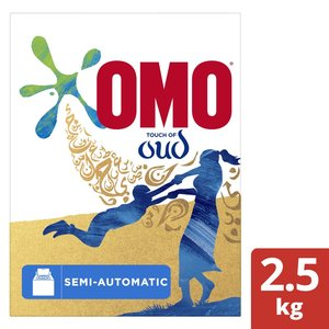 OMO Top Load Laundry Detergent Powder with Comfort Oud 2.5kg