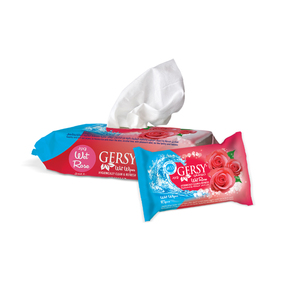 Gersy Anti Bacterial Wipes Rose 80pcs