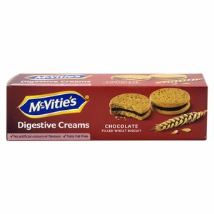 Mcvities Digestive Chocolate Cream Filled Wheat Biscuits 100g