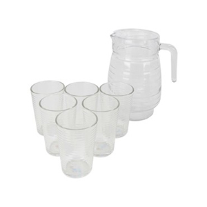 Home Glass Water Set 7pcs