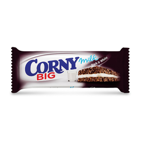 Corny Big Milk Dark & White Cereal Bar 40g