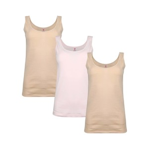 Eten Women's Inner Vest Assorted Colors Pack of 3 LVC-18