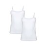 Eten Women's Inner Camisole White Pack of 2 LCW-19 Large