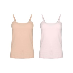 Eten Women's Inner Camisole Colour Pack of 2 LCC-19