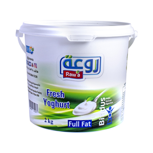 Raw'a Fresh Yoghurt Full Fat 2kg