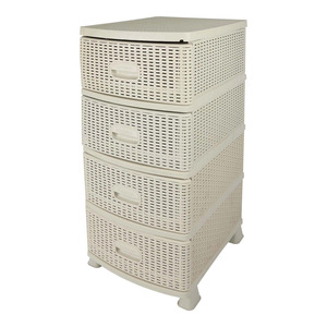 Alkan Drawer 4Tiers MA-072 Assorted Color