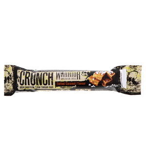 Warrior Crunch High Protein Low Sugar Bar Salted Caramel Flavour 64g
