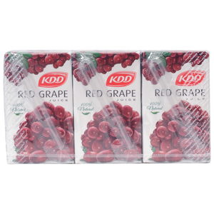 KDD Red Grape Juice 250ml