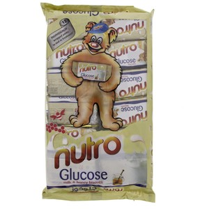 Nutro Glucose Milk & Honey Biscuits 50g