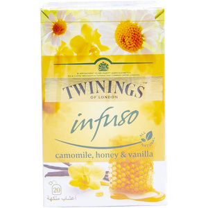 Twinings Infuso Chamomile, Honey & Vanilla 20pcs