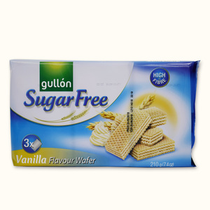 Gullon Vanilla Wafer Sugar Free 210g