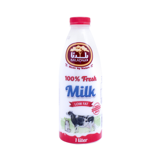Baladna Fresh Milk Low Fat 1Litre