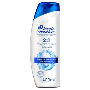 Head & Shoulders Classic Clean 2in1 Anti-Dandruff Shampoo 400ml
