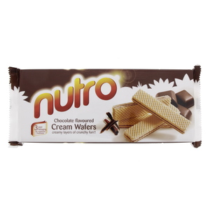 Nutro Chocolate Flavoured Cream Wafers 150g