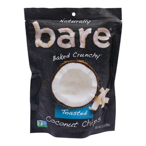 Bare Naturally Baked Crunchy Toasted Coconut Chips 94g