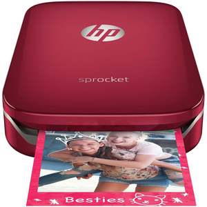 HP Sprocket Photo Printer Z3Z93A Red
