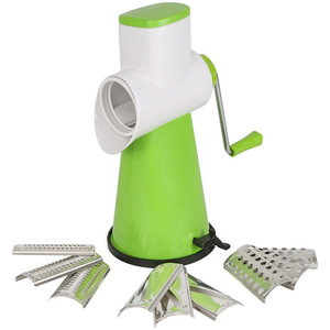 Chefline Rotary Grater & Slicer 3IN1 Assorted Color