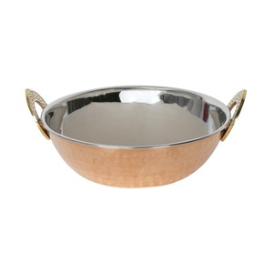 Chefline Double Wall Copper Kadai 17cm 85-107-ADW