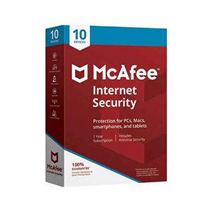 Mcafee Internet Security 2018 10 Users