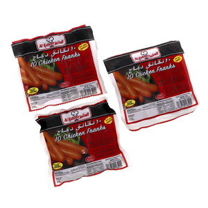 Al Kabeer Chicken Franks 3 x 375g