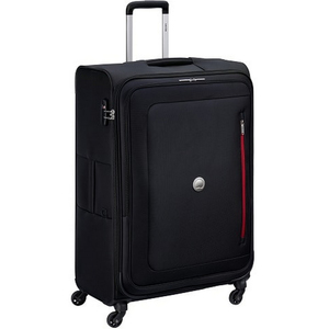 Delsey Oural 4 Wheel Soft Trolley 81cm Black