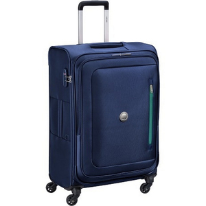 Delsey Oural 4 Wheel Soft Trolley 71cm Blue