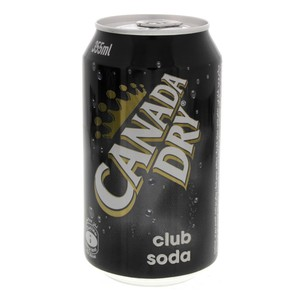 Canada Dry Club Soda 355ml