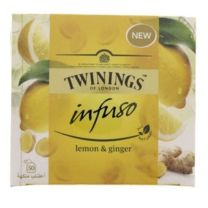 Twinings Infuso Lemon and Ginger 50pcs
