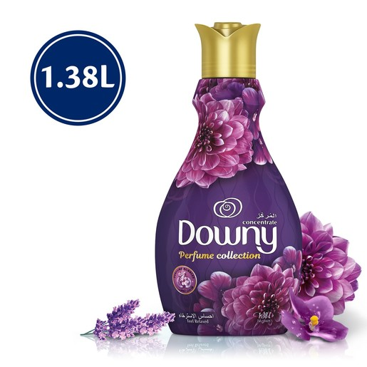 Downy Perfume Collection Concentrate Fabric Softener Feel Relaxed 1.38Litre