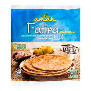 Aman Fatira Whole Wheat 6pcs