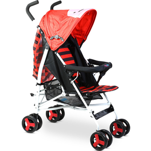First Step Baby Buggy B-803A Red