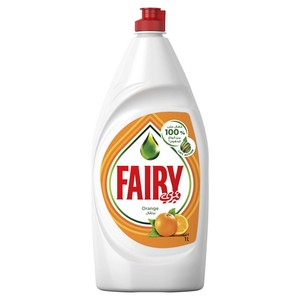 Fairy Orange Hand Dishwashing Liquid 1Litre