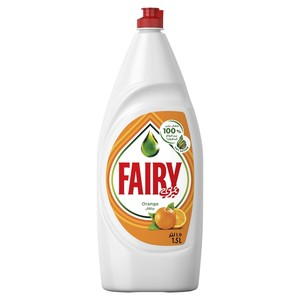 Fairy Orange Hand Dishwashing Liquid 1.5Litre