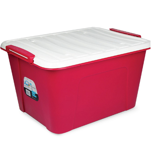 Home Storage Box 58Ltr Assorted Color