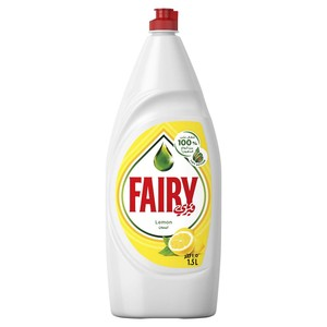 Fairy Lemon Hand Dishwashing Liquid 1.5Litre