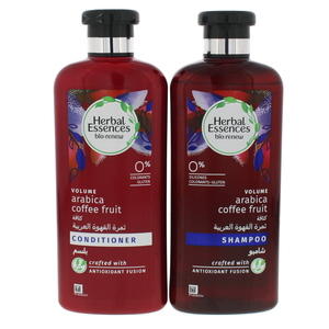 Herbal Essences Volume Arabica Coffee Fruit Shampoo 400ml + Conditioner 400ml