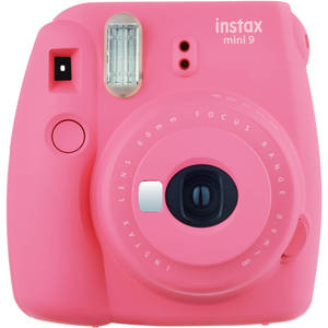Fujifilm instax mini9 Instant Camera  Flamingo Pink + Celebration Kit