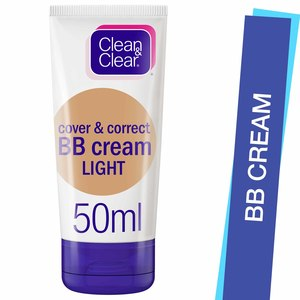 Clean & Clear BB Cream Cover & Correct Light 50ml